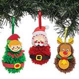decorazioni natalizie arrugginite 24 campane decorative per albero di Natale 40 mm SUPVOX fai da te